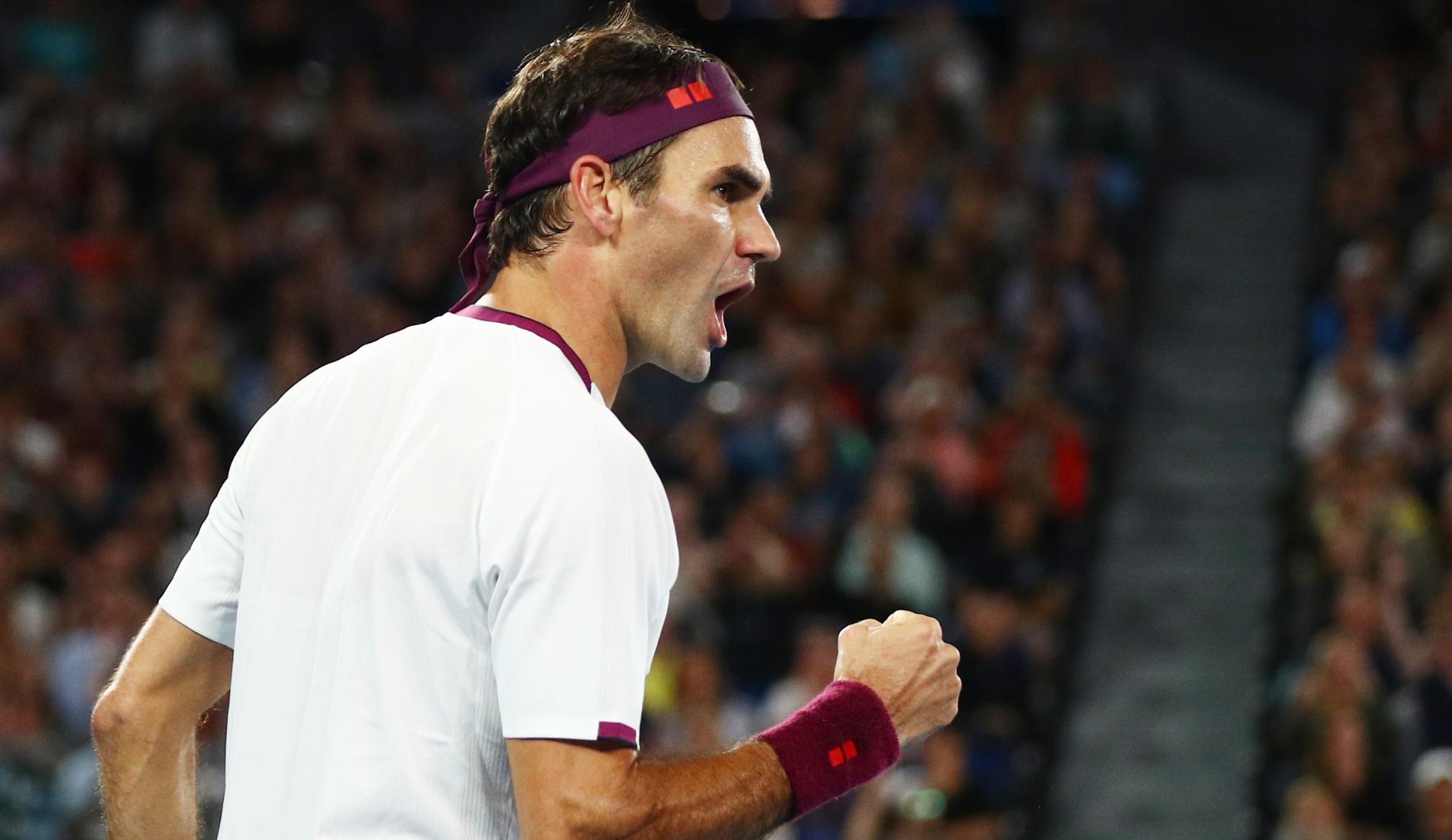 Federer - Millman - Australian Open 2020