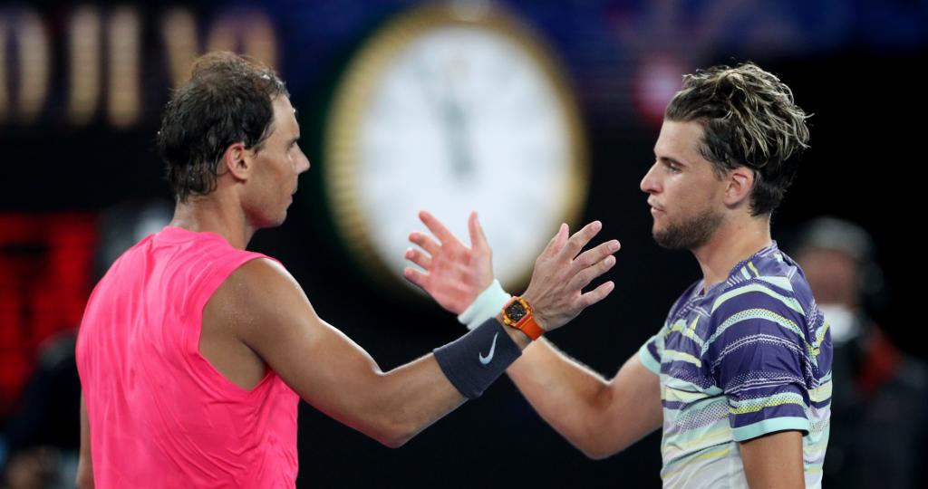 Nadal - Thiem - Australian Open 2020
