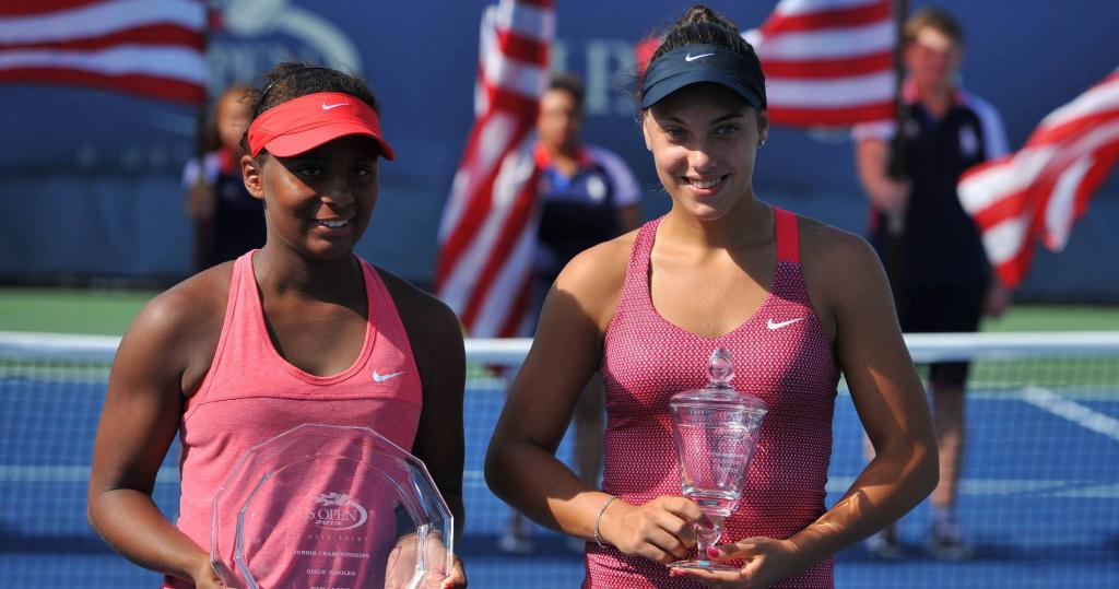 Ana Konjuh, US Open junior champion, 2013