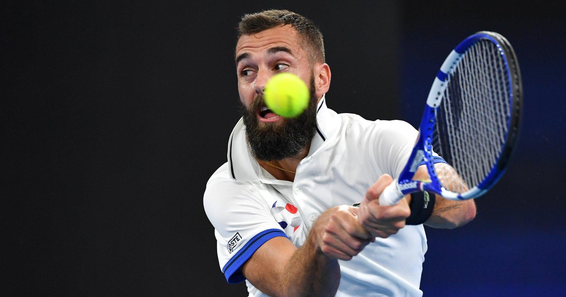 Benoît Paire, ATP Cup, 2020