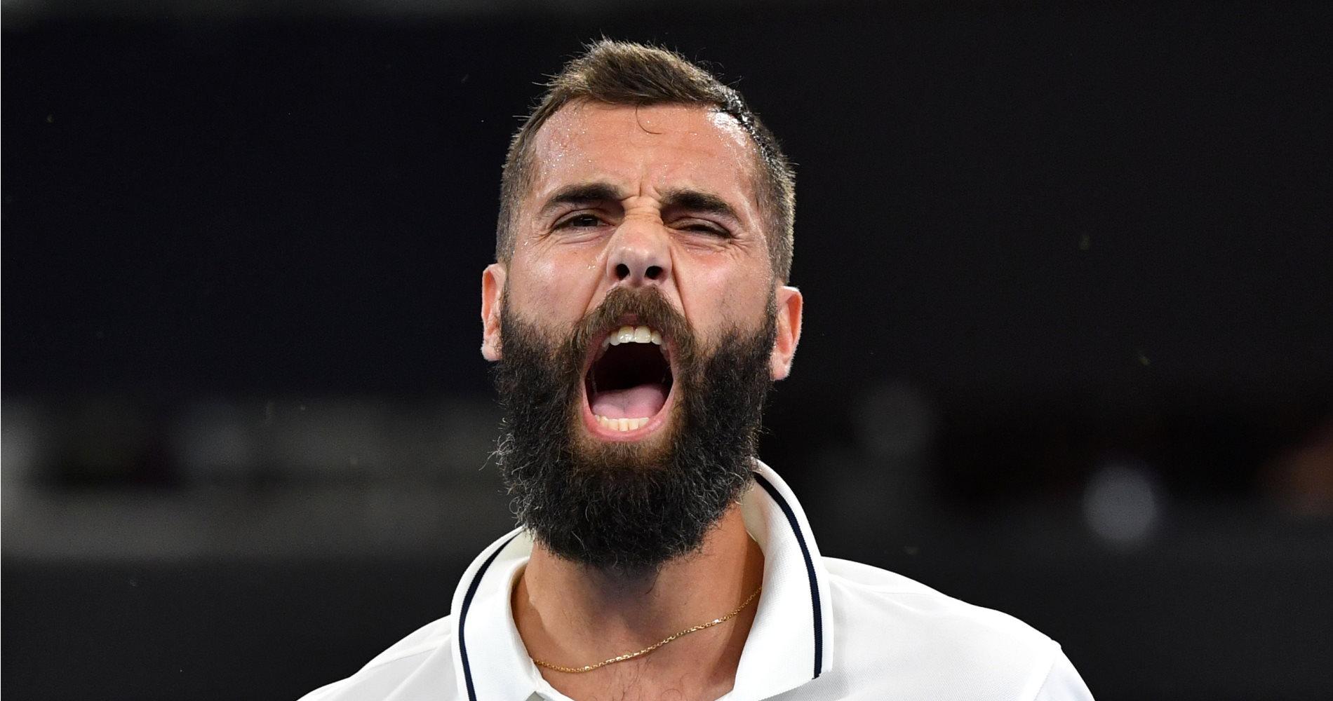 Benoît Paire, ATP Cup 2020.