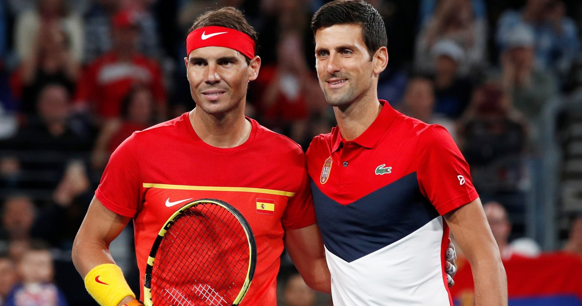 Rafael Nadal et Novak Djokovic, ATP Cup 2020