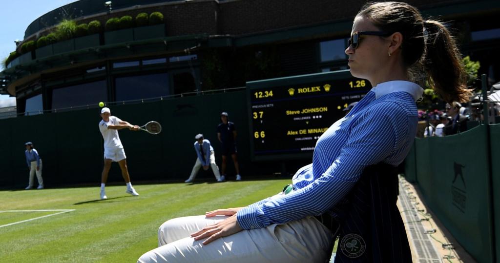 Wimbledon line judge