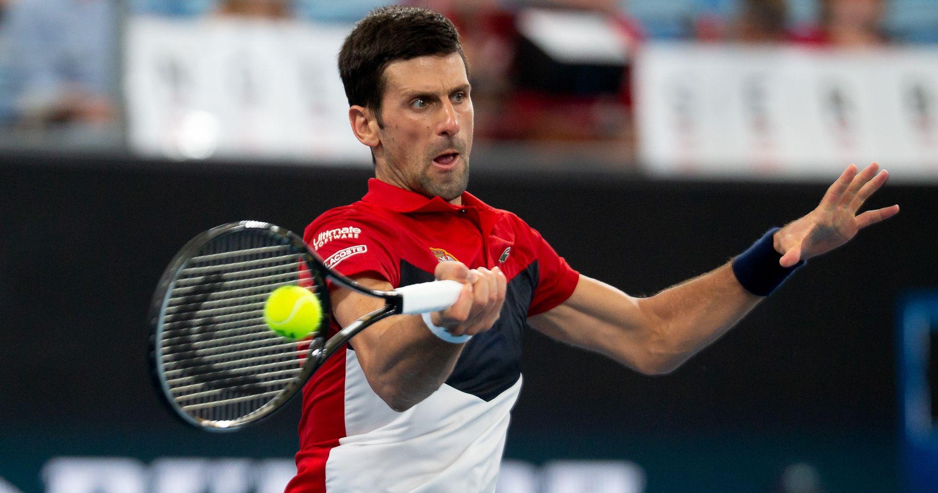 Novak Djokovic (Serbia), 2020 ATP Cup