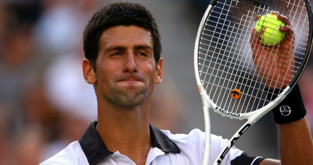 Novak Djokovic at the 2010 US Open