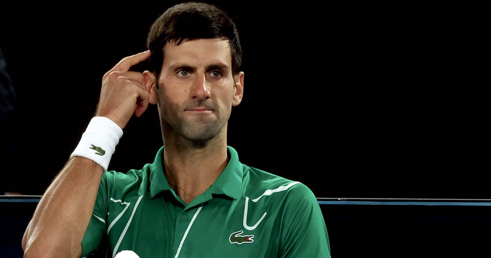 Novak Djokovic_Australian Open