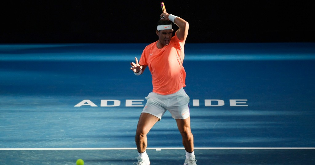 Rafael Nadal, Adélaïde 2021