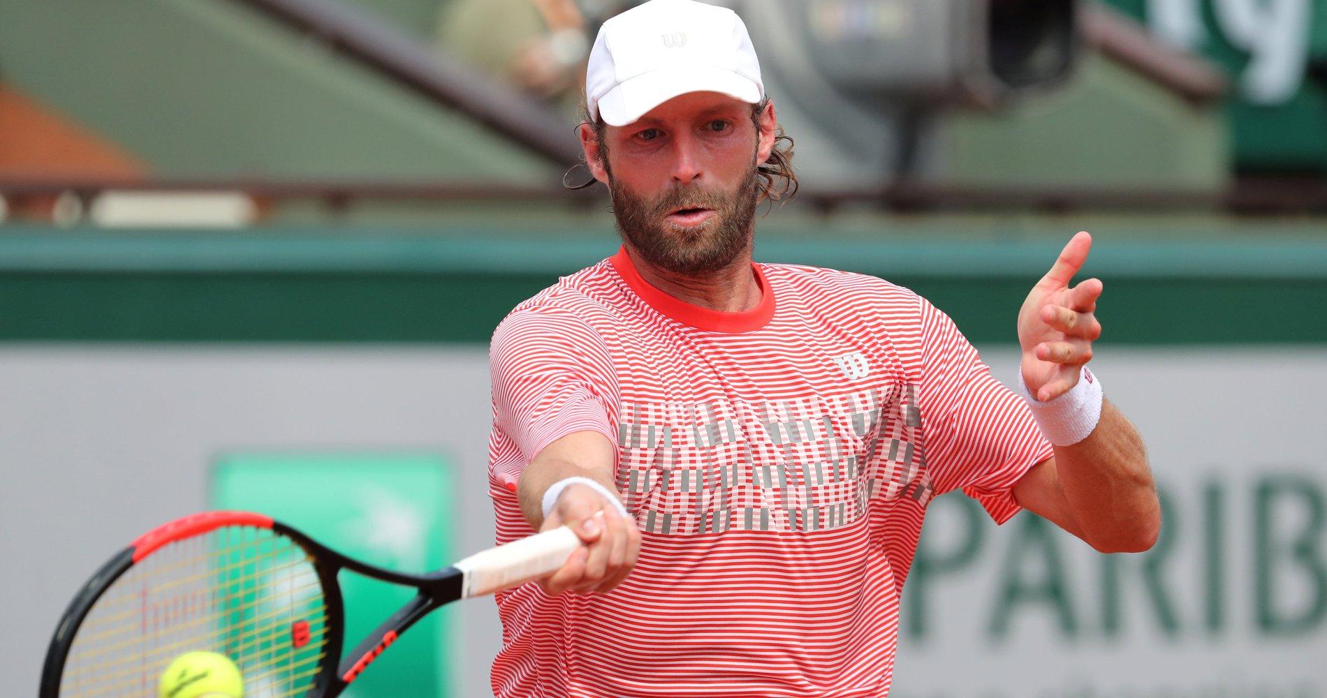 Stéphane Robert, Roland-Garros 2017