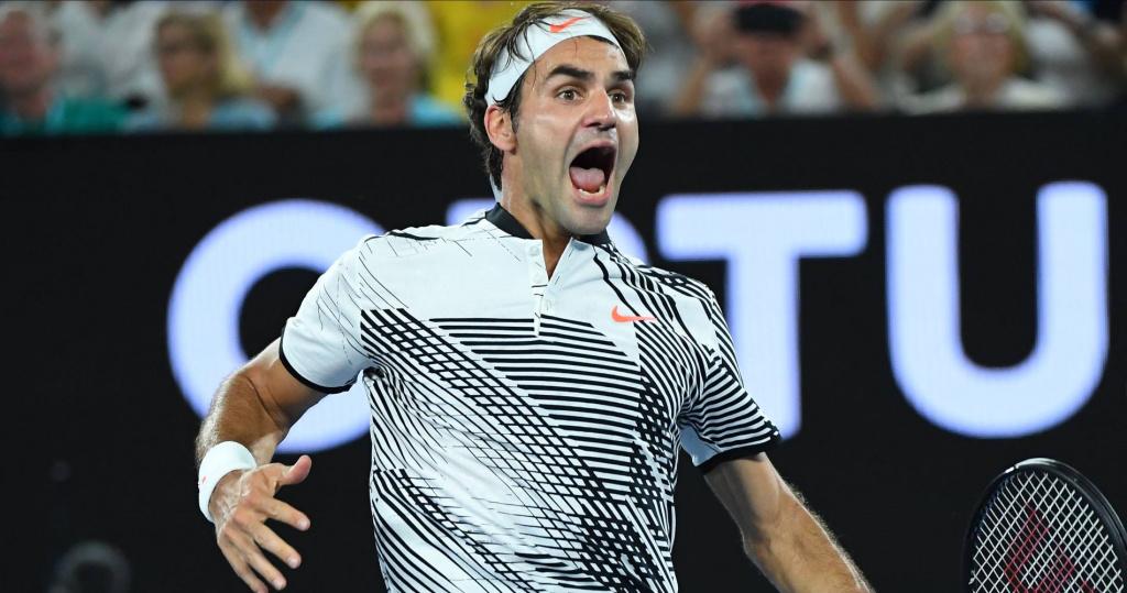 Roger Federer, Australian Open, 2017