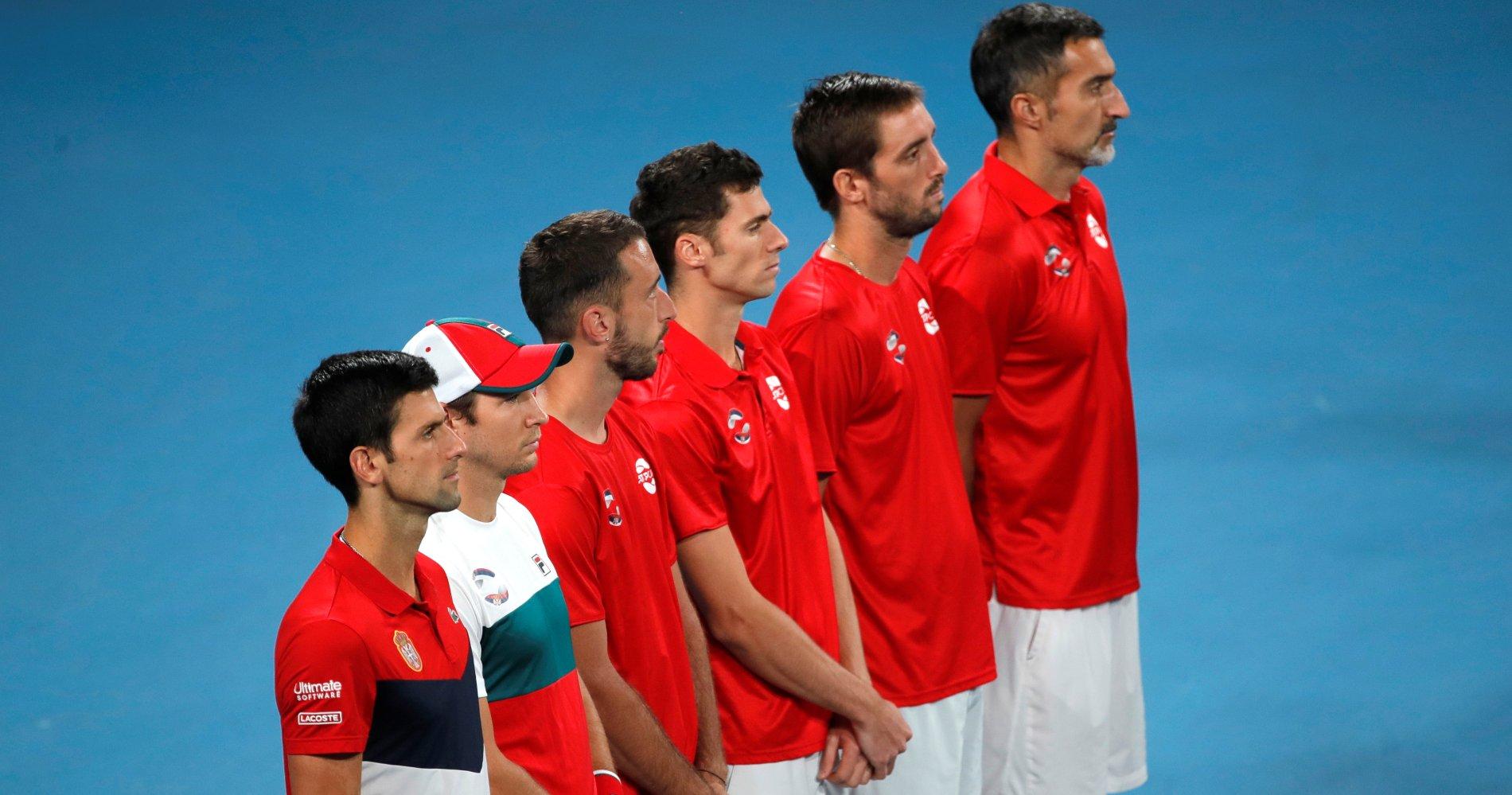 Equipe de Serbie, ATP Cup 2020