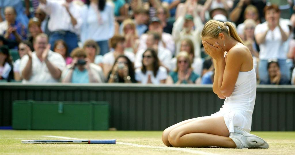 Sharapova Wimbledon 2004