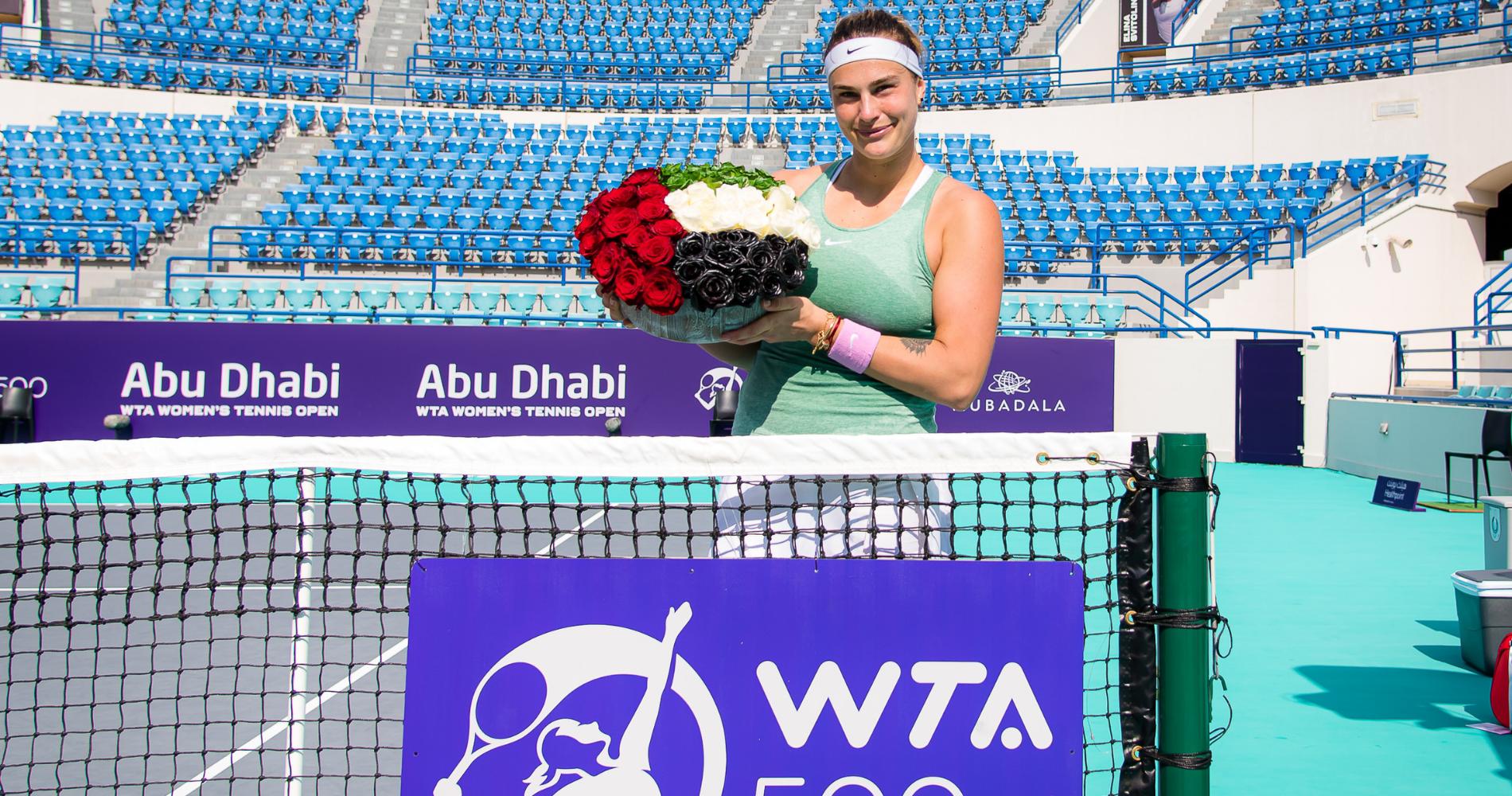 Aryna Sabalenka - Abu Dhabi 2021