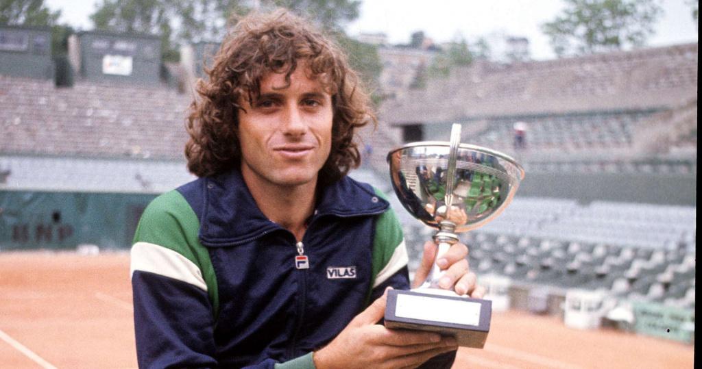 Guillermo Vilas, Roland-Garros 1977