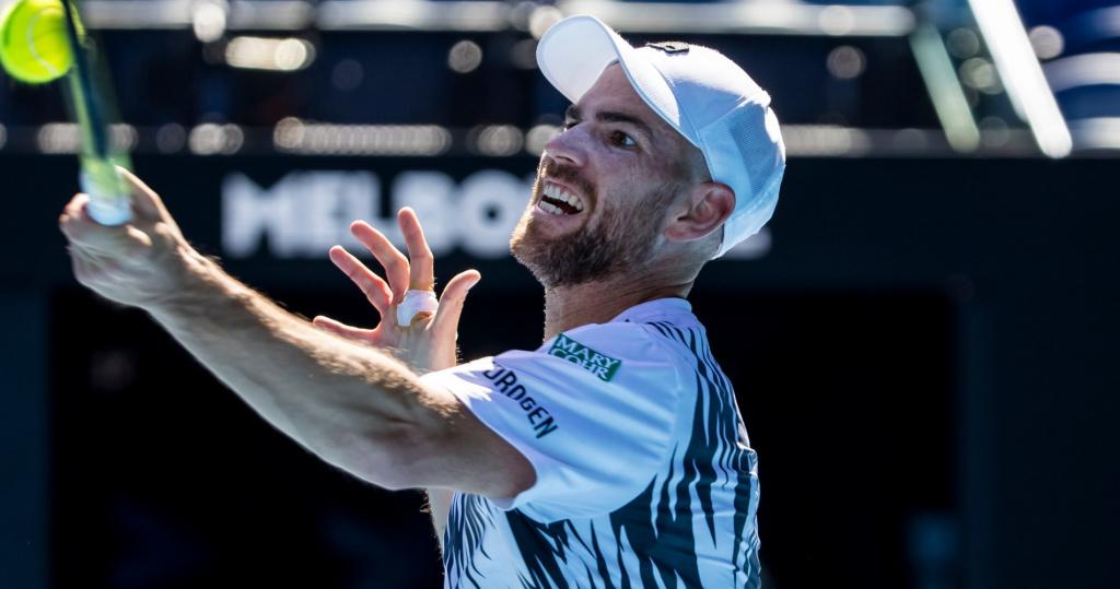 Adrian Mannarino, Australian Open, 2021