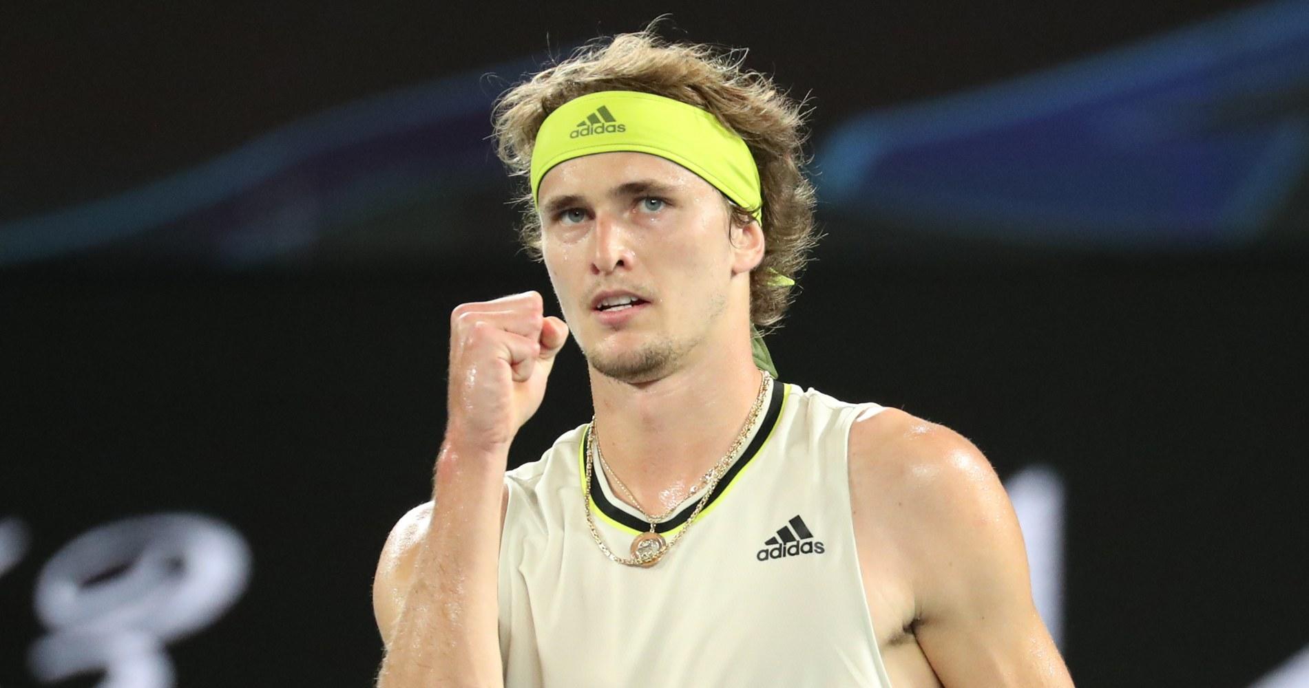Alexander Zverev, Australian Open, 2021