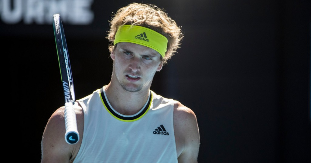 Alexander Zverev, Open d'Australie 2021