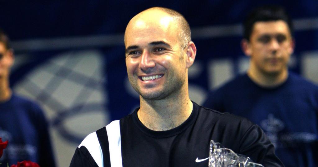 Andre Agassi, San José, 2003