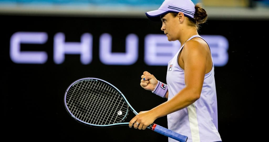 Ash Barty 2021 Australian Open