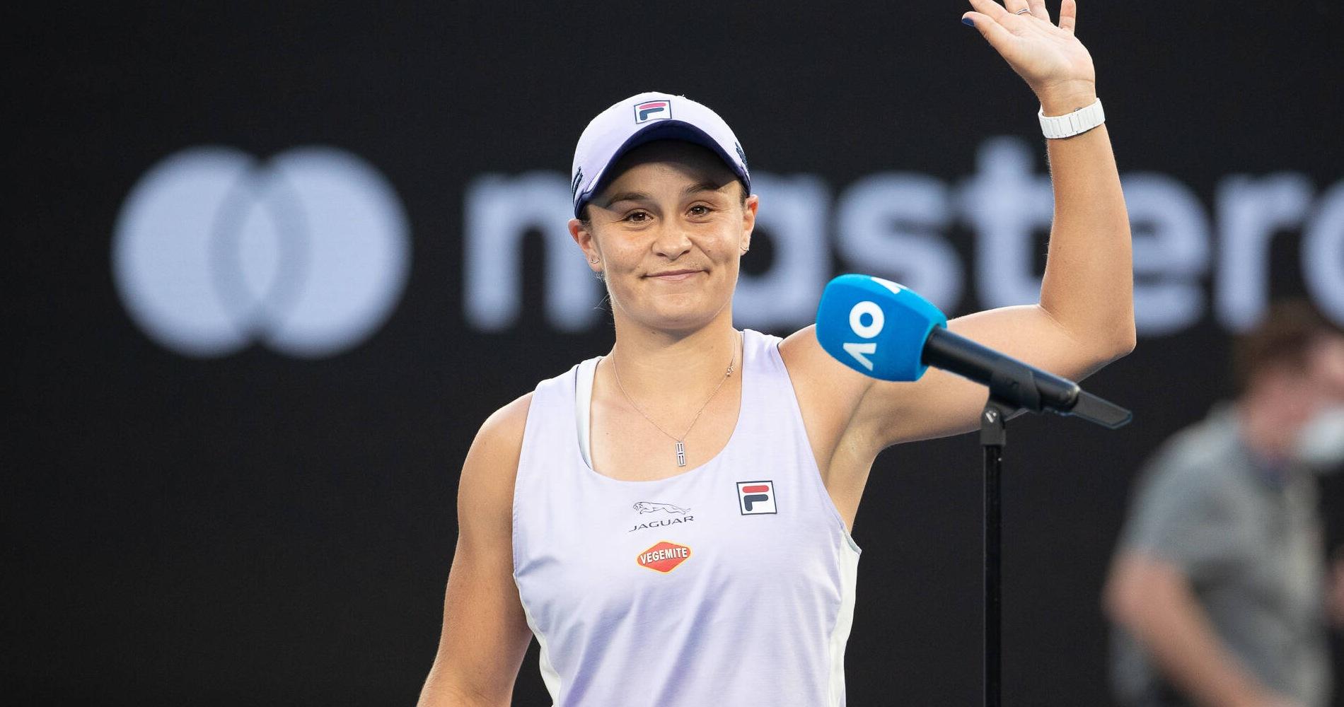 Ash Barty_Australian Open_R1 2021