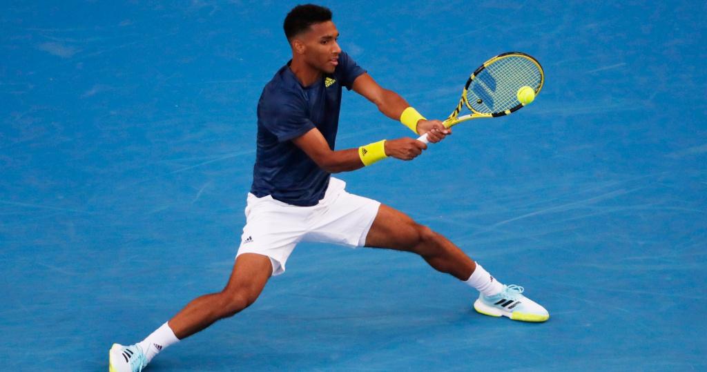 Auger-Aliassime Australian Open 2021
