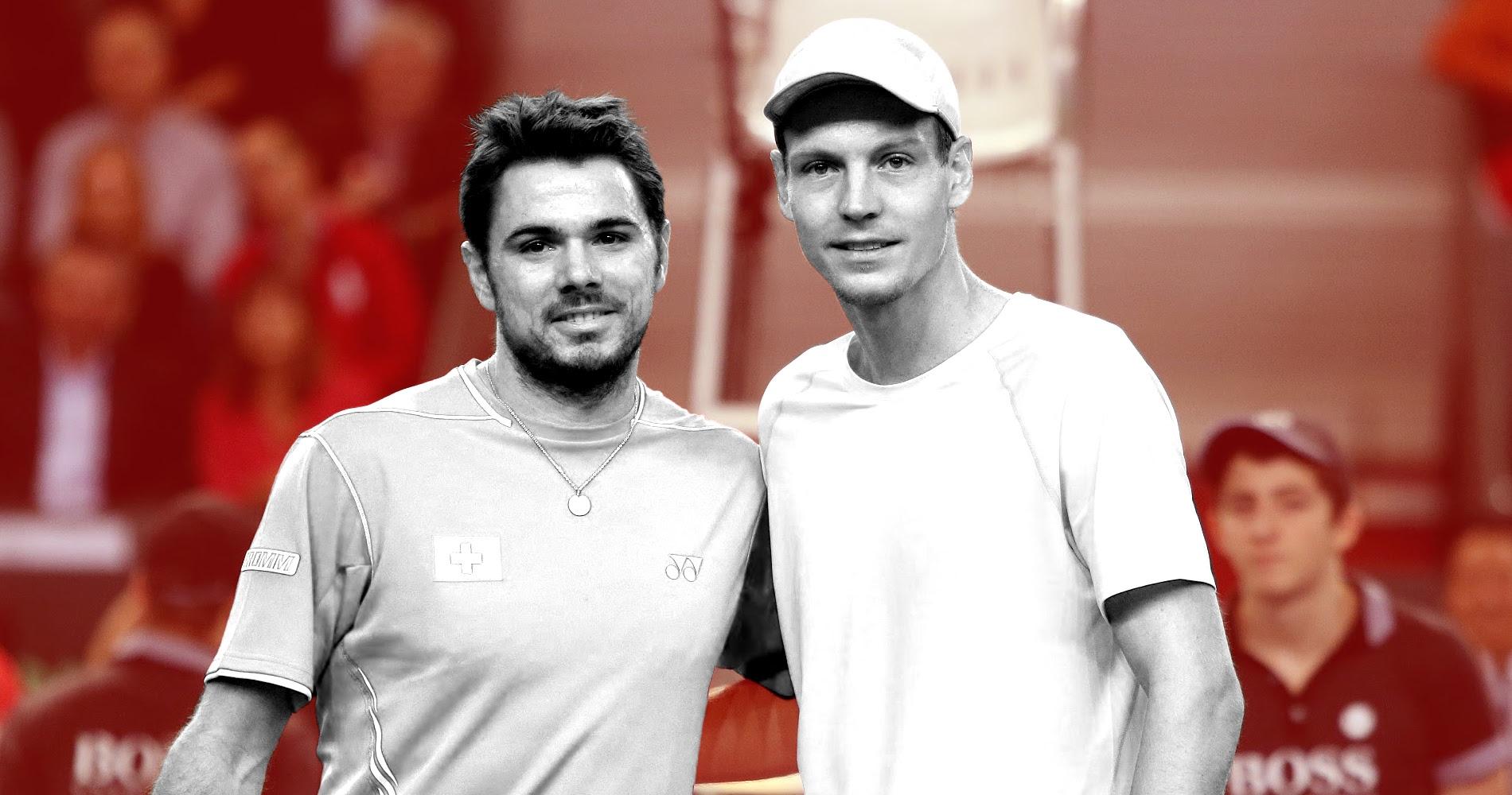 Berdych and Wawrinka