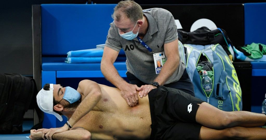 Berrettini Australian Open 2021