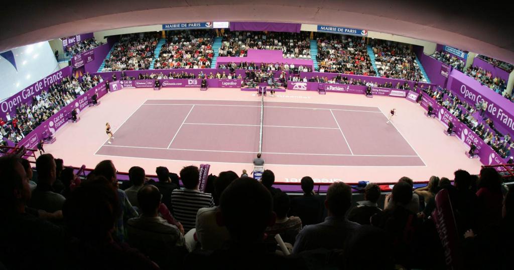 Pierre de Coubertin Stadium, Gaz de France Open