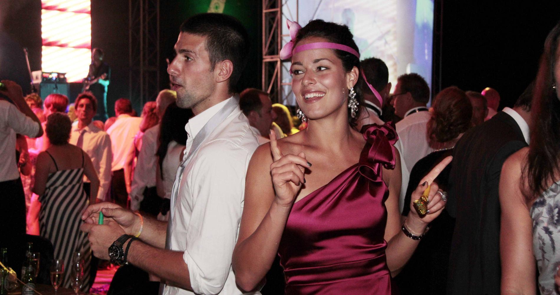 Novak Djokovic and Ana Ivanovic, Hopman Cup, 2011
