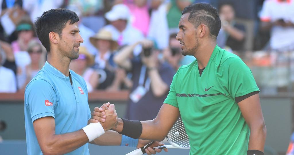 Djokovic and Kyrgios, Indian Wells 2017