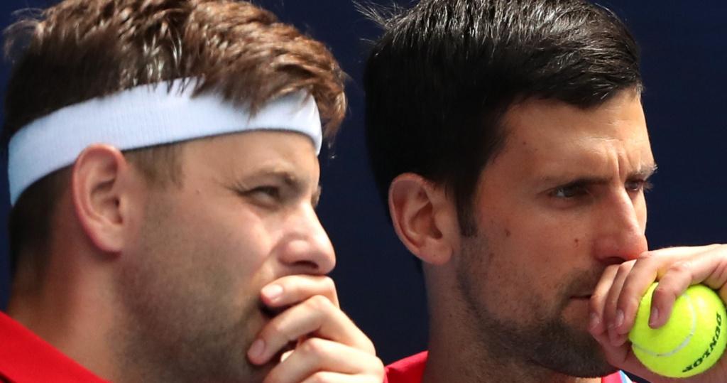 Djokovic and Krajinovic