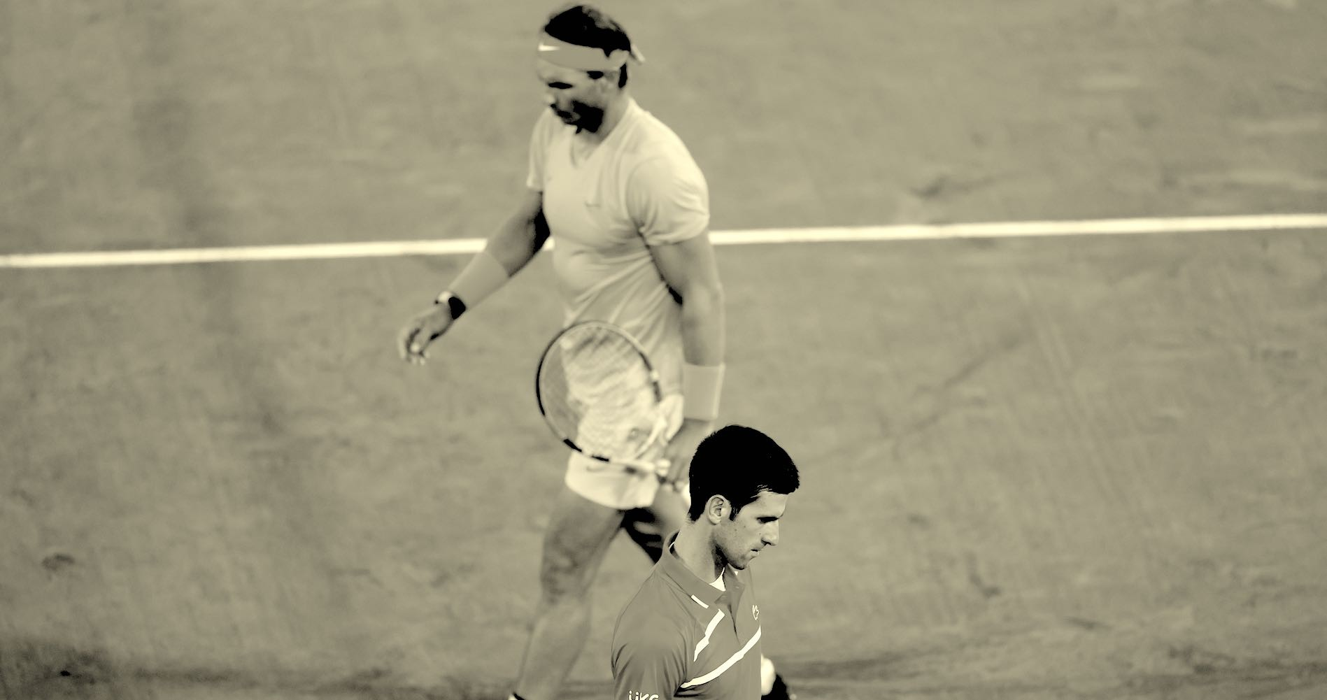 Rafael Nadal, Novak Djokovic, 2020