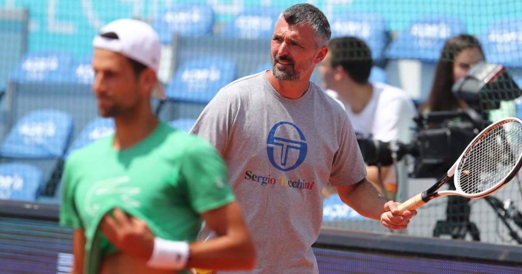 Goran Ivanisevic with Novak Djokovic, Adria Tour, 2020