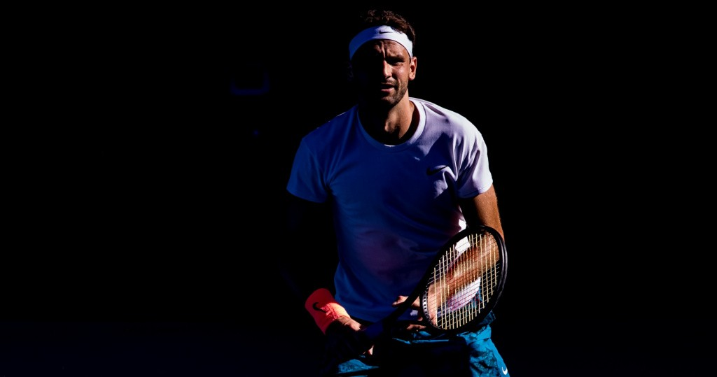 Grigor Dimitrov, Australian Open, 2021