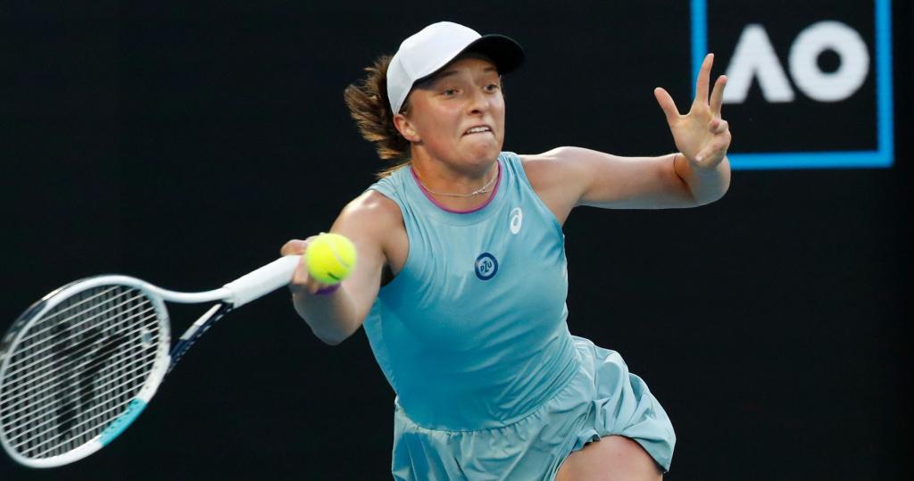 Iga Swiatek, Australian Open, 2021