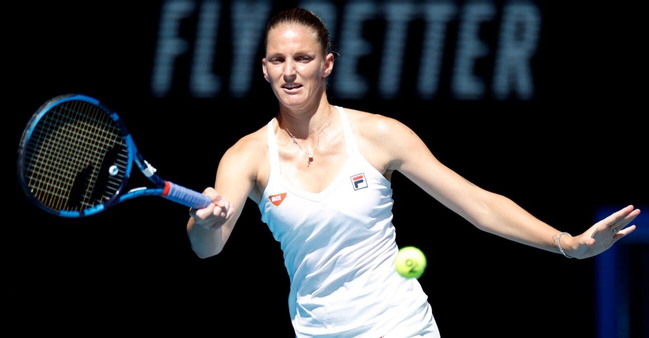 Karolina Pliskova, Australian Open, 2021