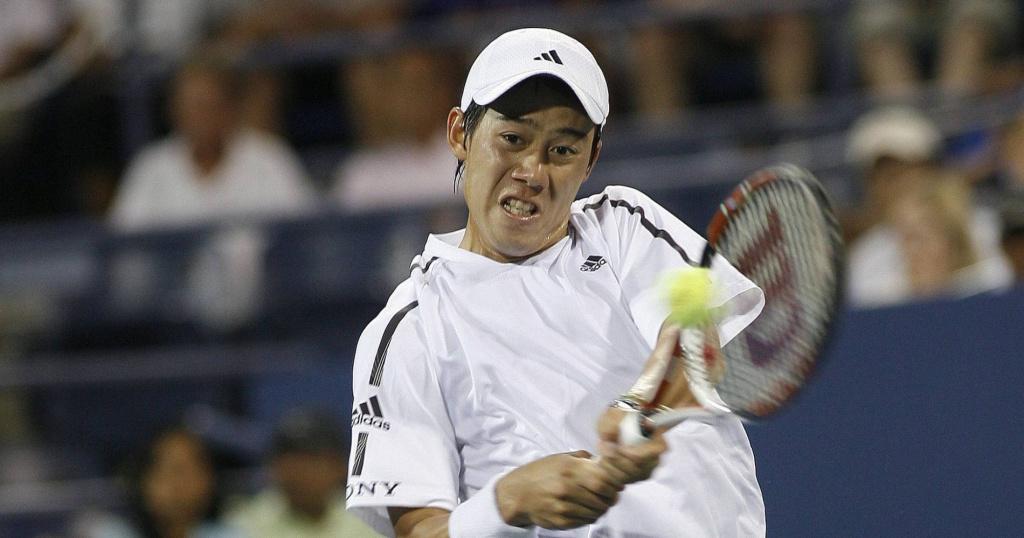 Kei Nishikori, US Open, 2008