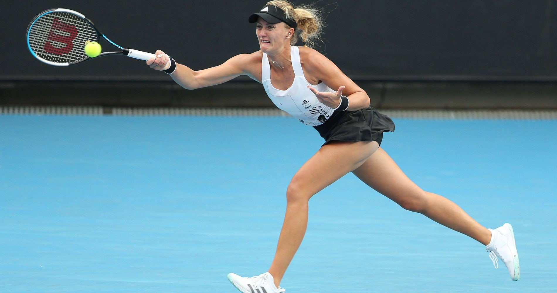 Kristina Mladenovic, Open d'Australie 2021