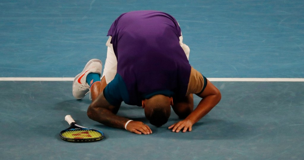 Kyrgios Australian Open 2021
