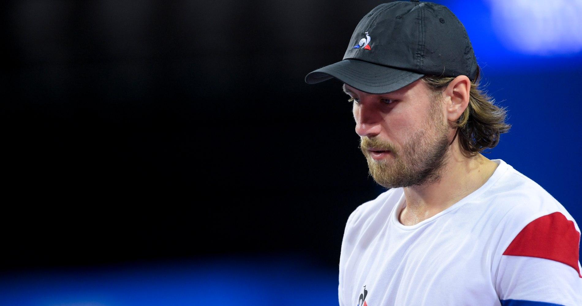 Lucas Pouille, Open Sud de France 2021