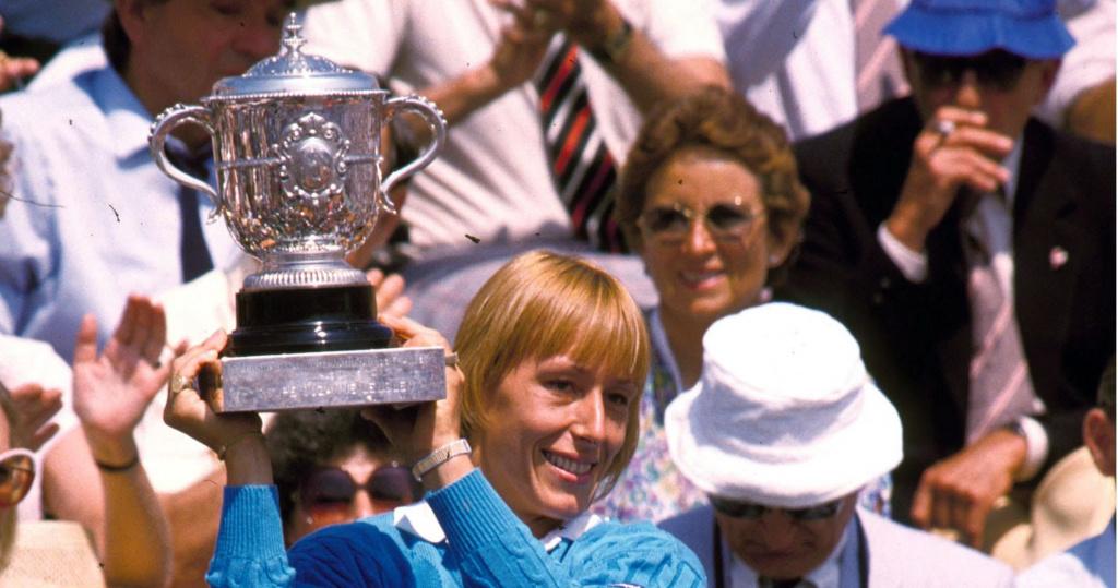 Martina Navratilova, 18 Grand Slam titles
