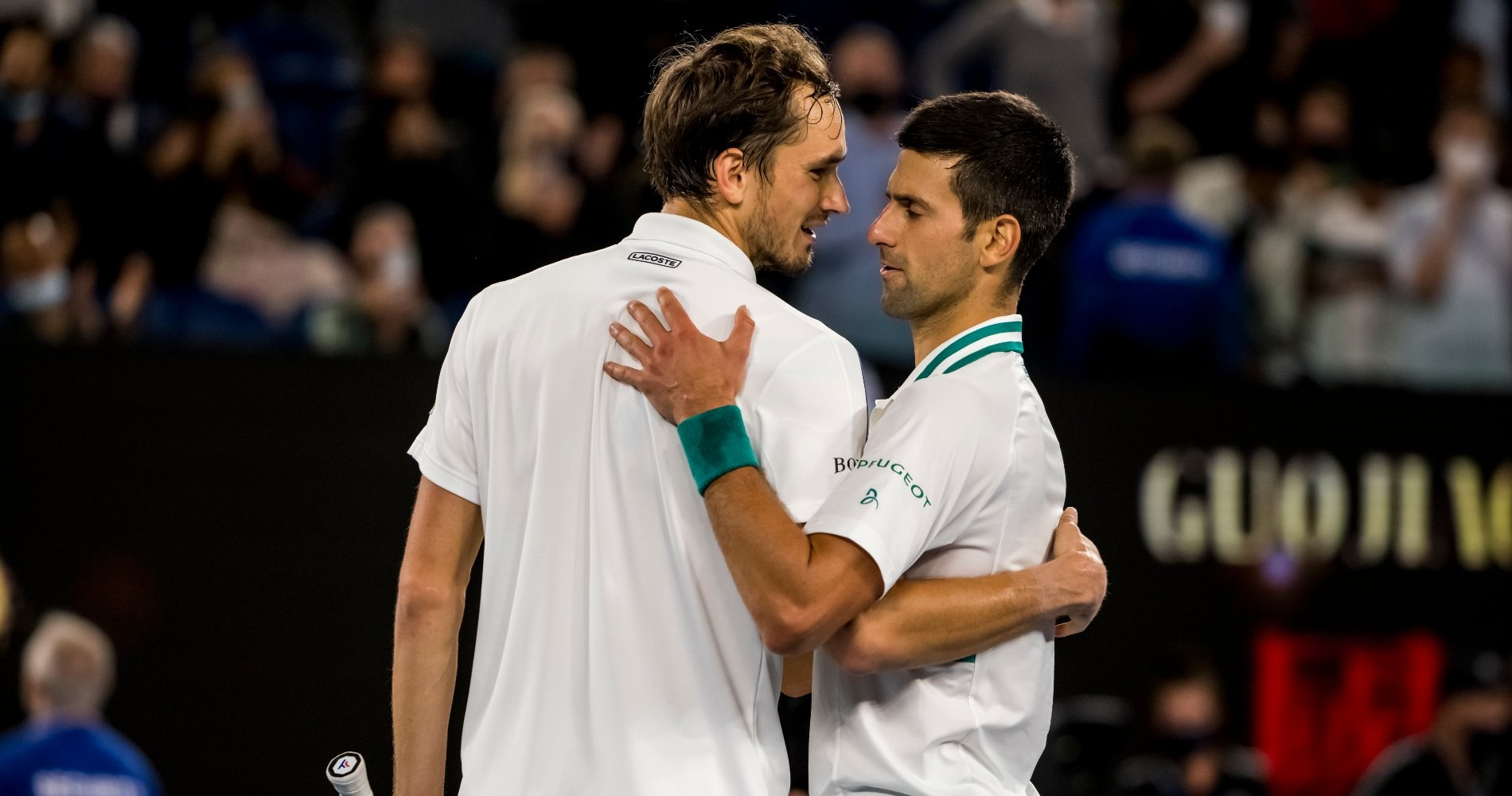 Daniil Medvedev & Novak Djokovic, 2021 Australian Open Final