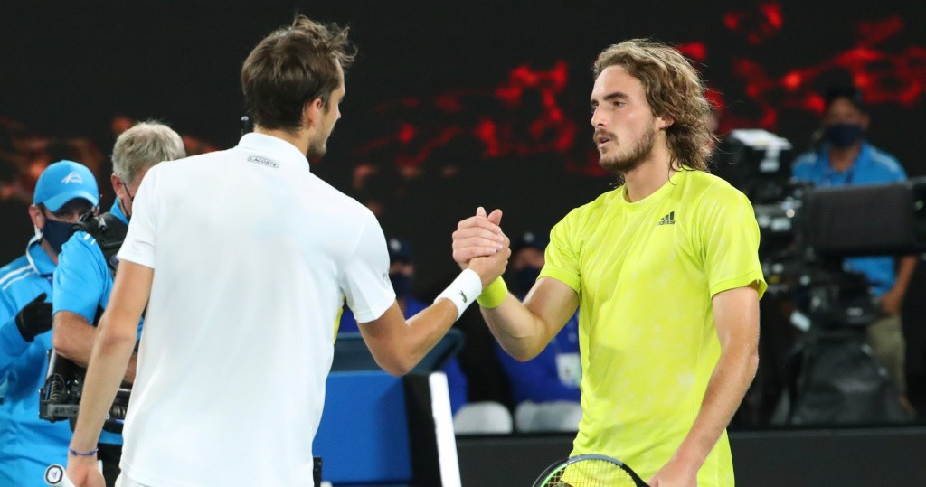 Daniil Medvedev vs Stefanos Tsitsipas, 2021 Australian Open