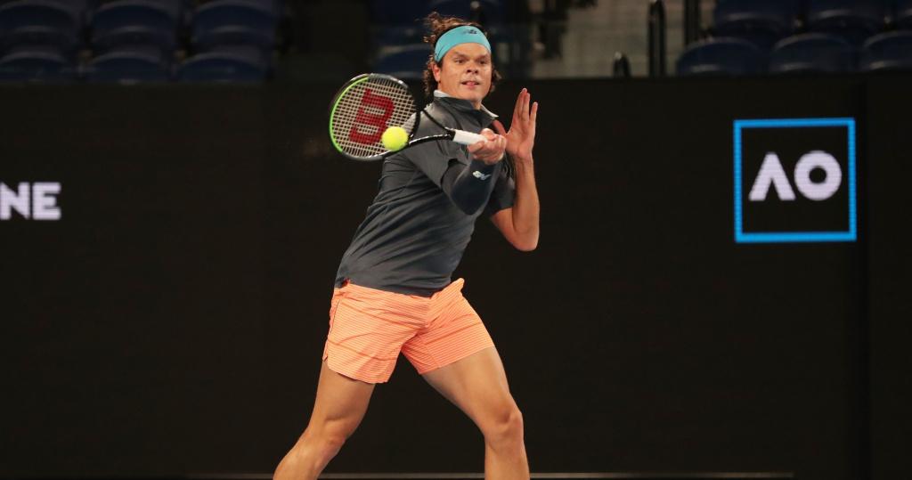 Milos Raonic, Australian Open, 2021