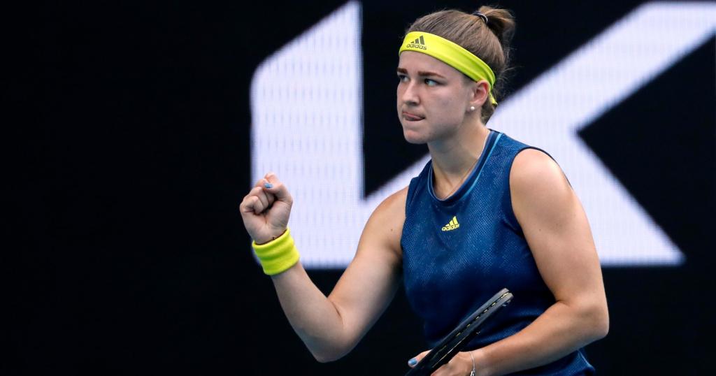 Muchova Australian Open 2021