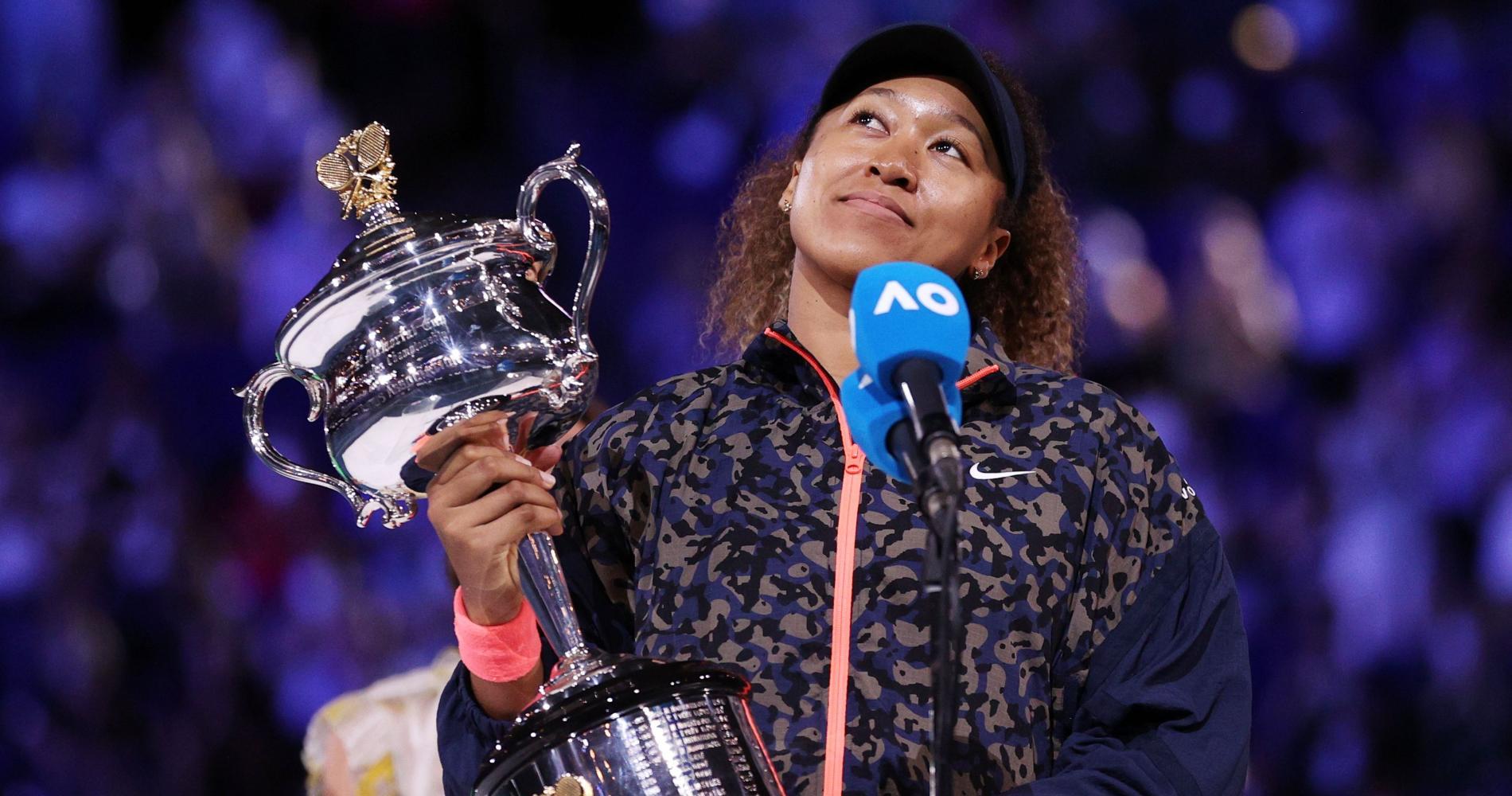 Naomi Osaka, 2021 Australian Open