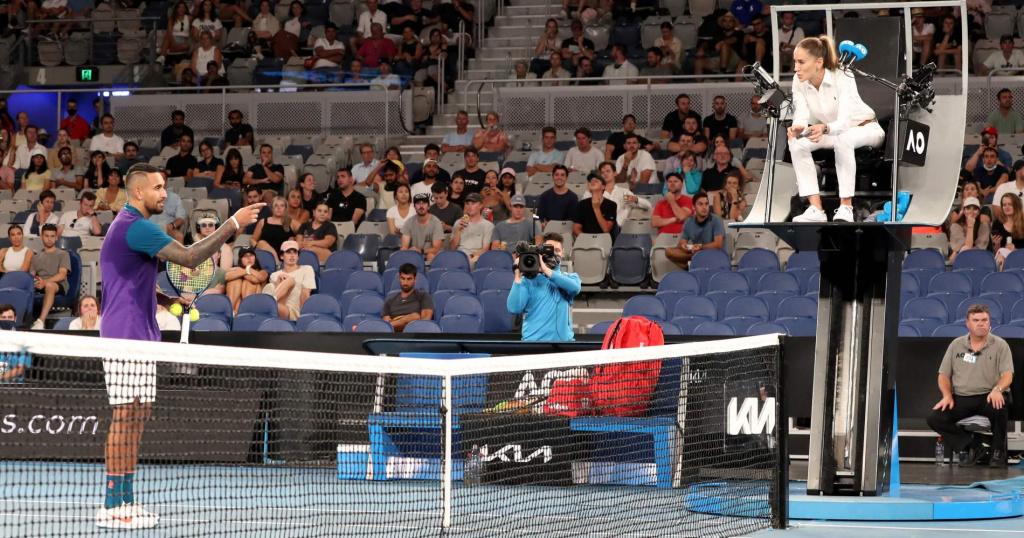 Nick Kyrgios, Open d'Australie 2021