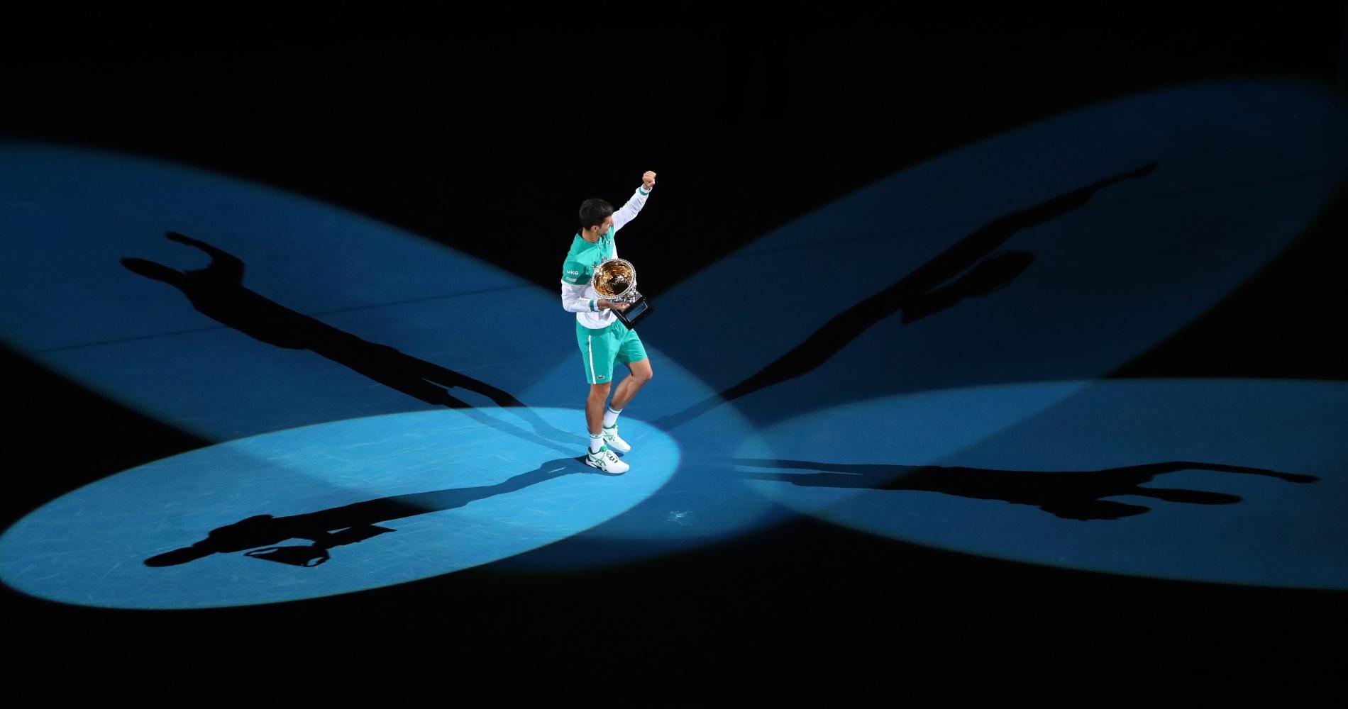 Novak Djokovic, Australian Open, 2021