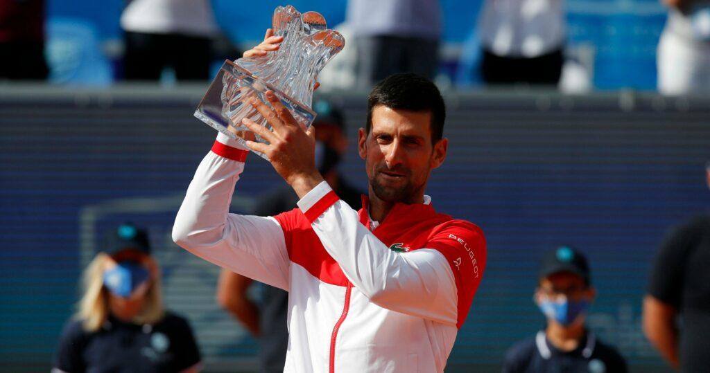 Novak Djokovic at Belgrade in 2021