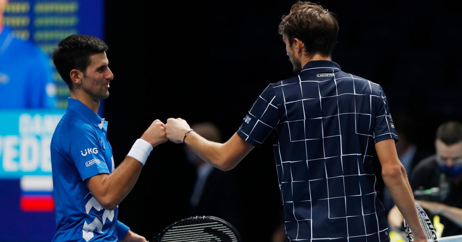 Novak Djokovic, Masters Londres 2020