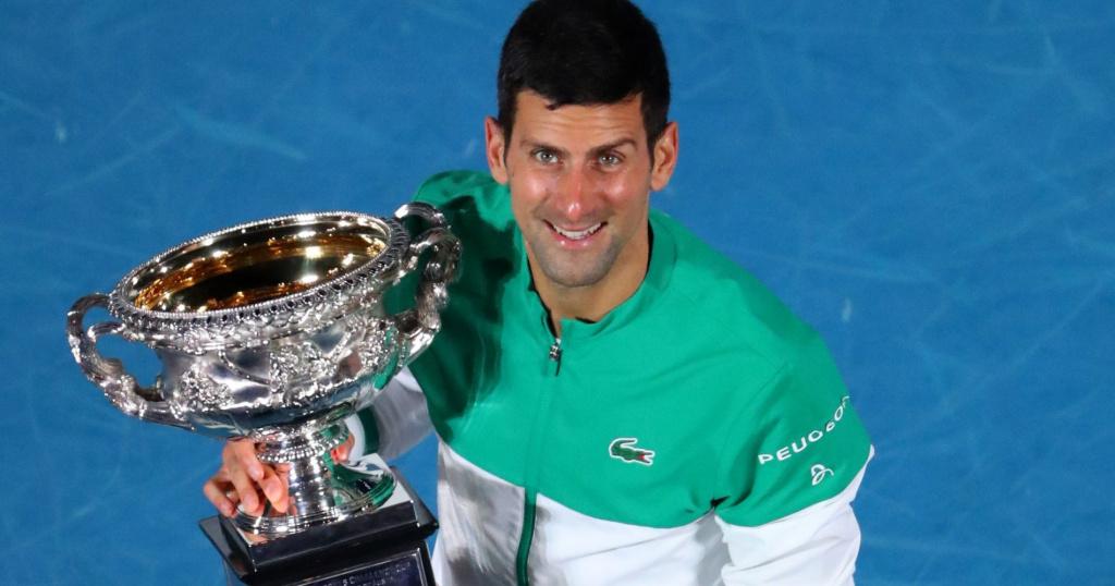 Novak Djokovic, 18 Grand Slam titles